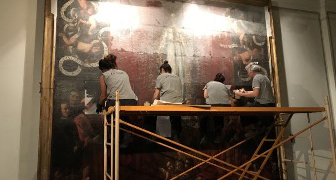 El Museo de Bellas Artes evaluará el estado de la más antigua representación del Gobierno Municipal