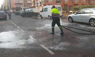 Alfafar innova en la neteja dels seus carrers
