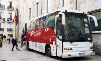 El Centre de Transfusió i les Corts Valencianes celebren la seua última jornada de l'any de donació de sang