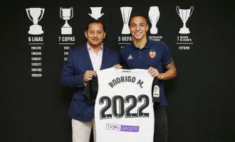 Rodrigo Moreno, valencianista hasta 2022