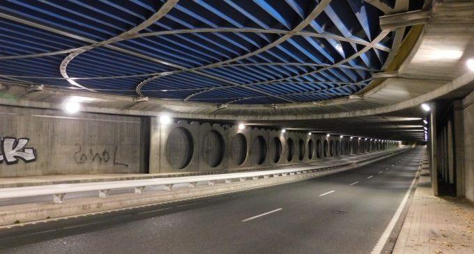 La renovació de la il·luminació del túnel de Peset Aleixandre estalvia 22.367 euros de llum