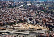 El tren subterrani que creuarà València aprofitant el Parc Central