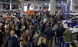 Un cap de setmana amb milers de visitants a la Fira de l'Automòbil