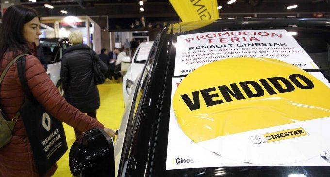 Més de 3.400 cotxes venuts en 6 dies en la Fira de l'Automòbil de València