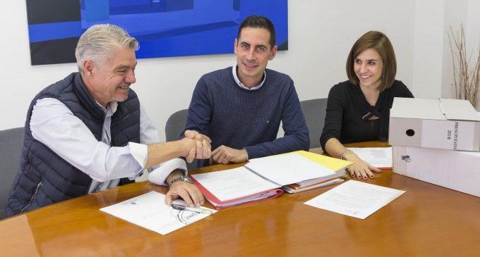 El govern de Mislata aconseguix el suport de C's per a l'aprovació del pressupost municipal de 2018