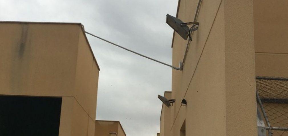 Sistema de videovigilància al centre d'Avifauna de Natzaret