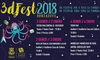Llega Burjajove 2018, tres días de festival para toda la familia