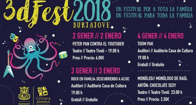 Arriba Burjajove 2018, tres dies de festival per a tota la família