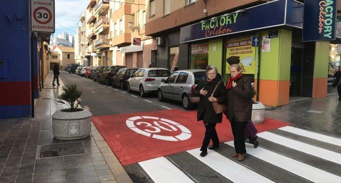 Pacificació del trànsit al barri de Campanar