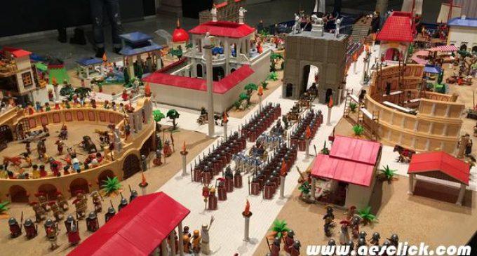 Benetússer organitza una gran exposició de Clics de Playmobil