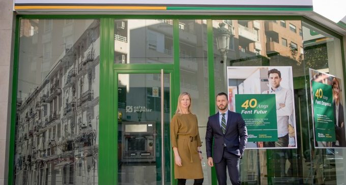 Caixa Popular obri nova oficina al barri de Russafa