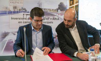 La Diputació obri la via de la renovació integral de la carretera de Moncada