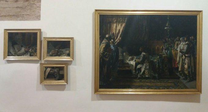 Memòria de la Modernitat exposa un nou tresor a Alzira: un quadre de Pinazo sobre la mort de Jaume I