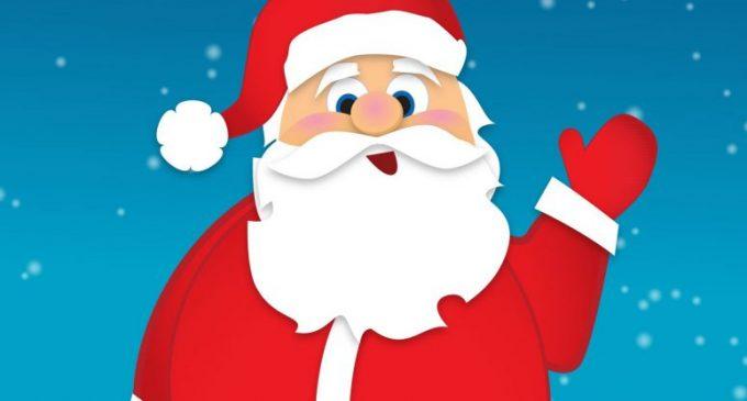 El Pare Noel avança uns dies la seua visita a Burjassot per a estar amb els components de l'AV Mestre Lope-Josep Carsí