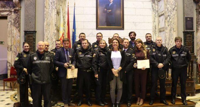 La Policia Local premia els treballs periodístics