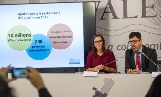 La Vall d'Aiora rebrà 400.000 euros per a la restauració del seu patrimoni