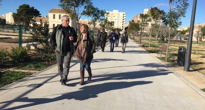 Ribó: 'Este parc és un pulmó verd per al barri de Malilla'