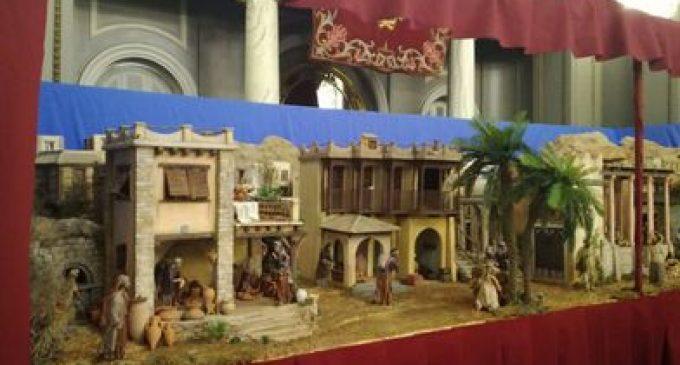 Ja es pot visitar el Betlem municipal de València que compta amb més de 300 figures