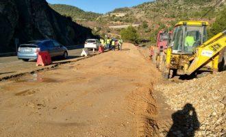 La Diputación destina 4 millones de euros a la mejora de la seguridad vial en la CV-580 a su paso por La Canal