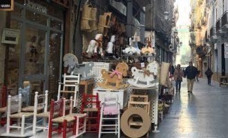Obert el termini de les subvencions per al turisme de compres destinades als comerços de Ciutat Vella i Pla del Remei