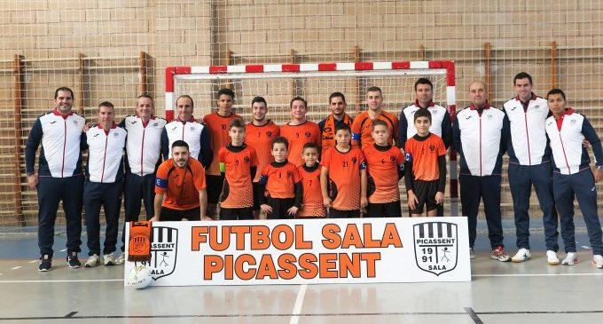 L'escola de futbol sala es presenta amb 150 esportistes i 11 equips