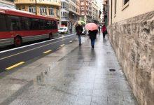 Demà tornen les pluges intenses a València