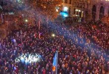 Más de tres horas de música y fiesta para celebrar las Campanadas en València