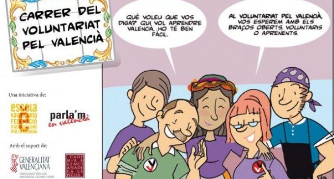 Oberta la inscripció per al Voluntariat Pel valencià