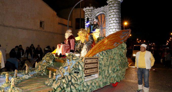 Els Reis d'Orient porten, un any més, la màgia i la il·lusió a Puçol