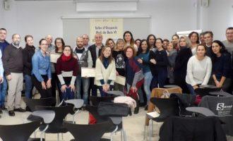 """Finalitza el Taller d'Ocupació """"Molí deBaixVI"""" de Massamagrell"""