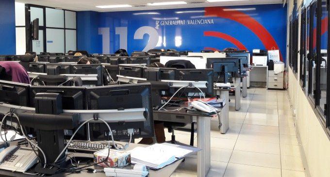 El telèfon d'emergències 112 Comunitat Valenciana ha rebut en 2017 més de tres milions de trucades