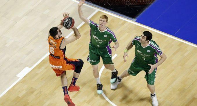 El Valencia Basket rema para morir en la orilla (74-67)