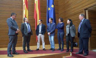 Visita oficial de l'Ambaixador de Cuba a les Corts Valencianes