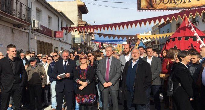 El Mercat dels Borja converteix Llombai en un poble medieval