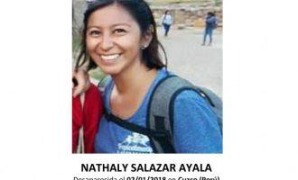 Així es troba el cas de la valenciana desapareguda al Perú