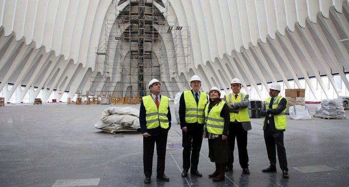 Puig assenyala que l'aprofitament de l'Àgora aconseguirà 'rellançar' la Ciutat de les Arts i les Ciències