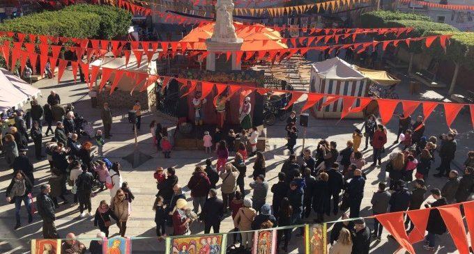 Alfafar celebra la seua tradicional Fira Medieval amb motiu de Sant Sebastià