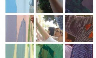 S'inauguren els mosaics #CreandoEscuela en les Escoles Infantils Municipals de Burjassot