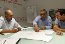 La Diputació inicia el procés de millora de la seguretat en la carretera entre Bellreguard i Almoines