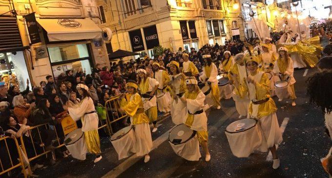 La Cavalcada de Reis de València posarà el fermall d'or amb un espectacular piromusical