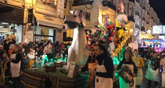 La cavalcada de reis de València repartirà més caramels i 20.000 punts de lectura plantables