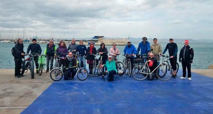 'València en Bici' presenta una proposta per a connectar el Jardí del Túria amb La Marina