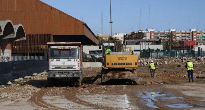 El CEIP 103 dirà adéu als barracons: Les obres ja han començat
