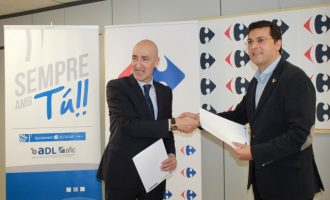 Alfafar crea un conveni de col·laboració laboral amb Carrefour