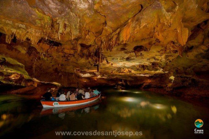 Cuevas en la Comunidad Valenciana