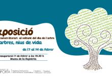 El Museu de la Rajoleria de Paiporta inaugura l'exposició de cal·ligrames realitzats per escolars amb motiu del Dia de l'Arbre