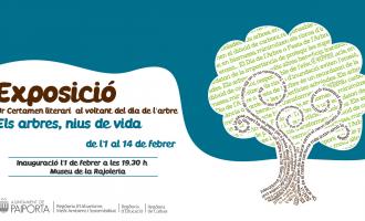 El Museu de la Rajoleria de Paiporta inaugura la exposición de caligramas realizados por escolares con motivo del Día del Árbol