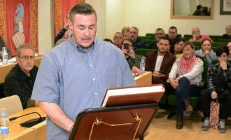 Guillem Montoro ja és regidor de l'Ajuntament de Paiporta