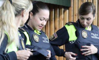 La policia local de Sedaví va col·laborar en la captura d'una cabra montesa