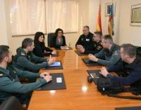 Paiporta es reuneix amb les forces de seguretat per a abordar els atacs a vehicles